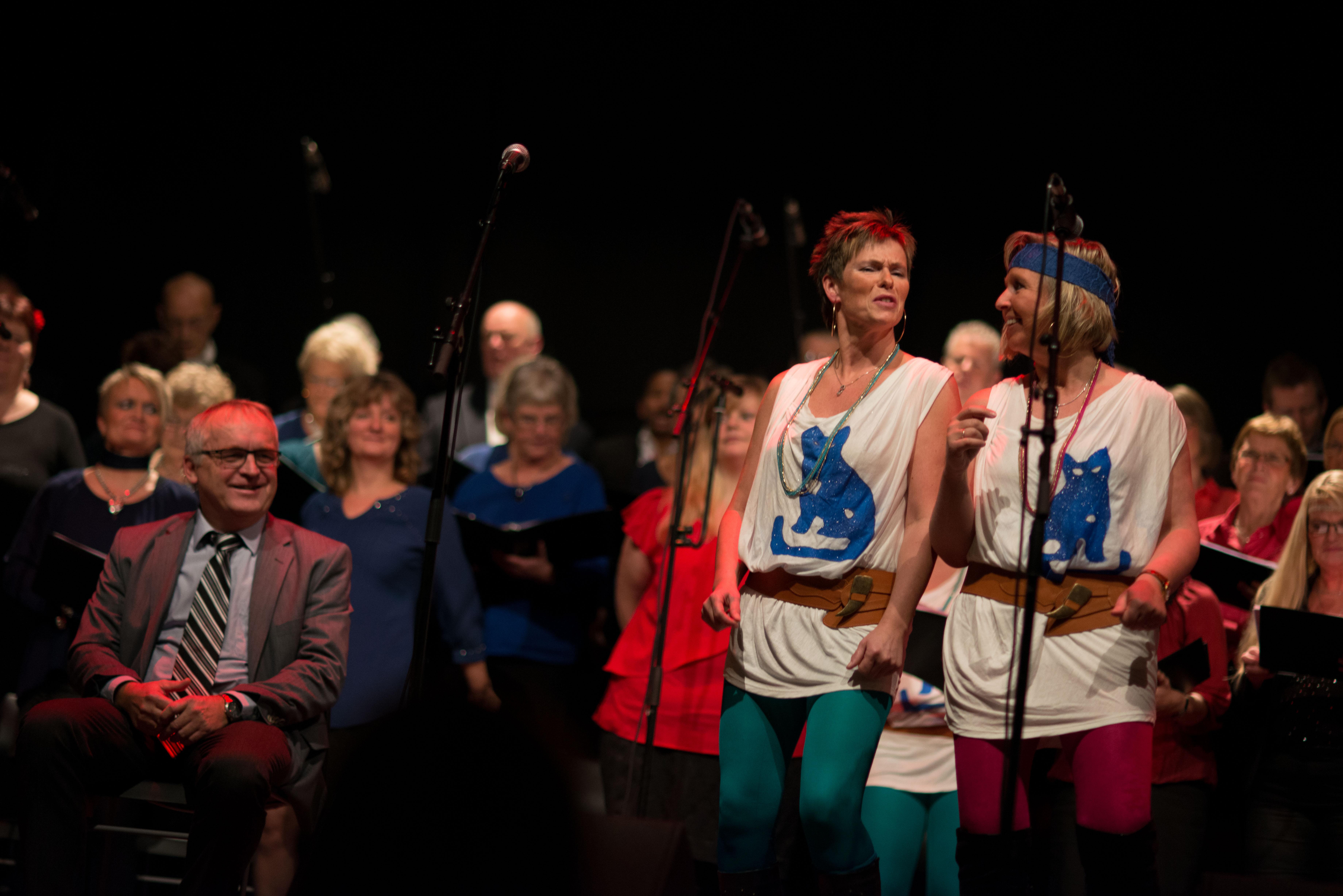 Liv og Solveig - Musikalmix 2013 - Foto: Sian O'Hara