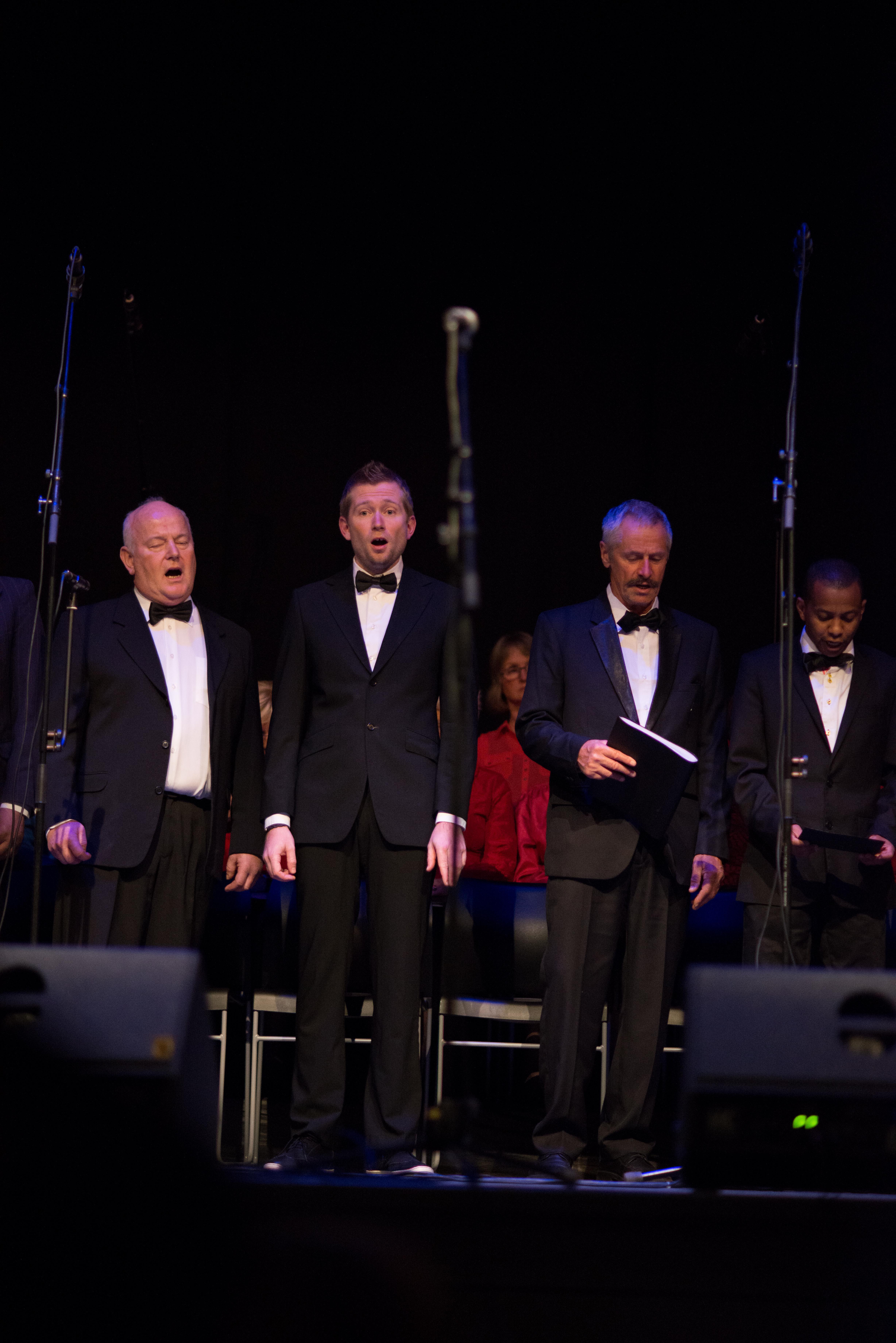 Per, Thomas, Inge, Ali. Musikalmix 2013 - Foto: Sian O'Hara