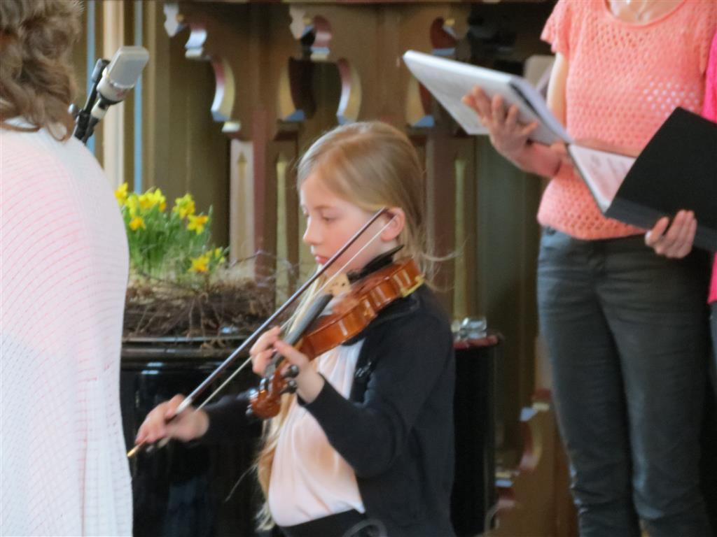Vårkonsert Evje kyrkje 30. mars 2014 - Foto: Thorbjørn Leifsen