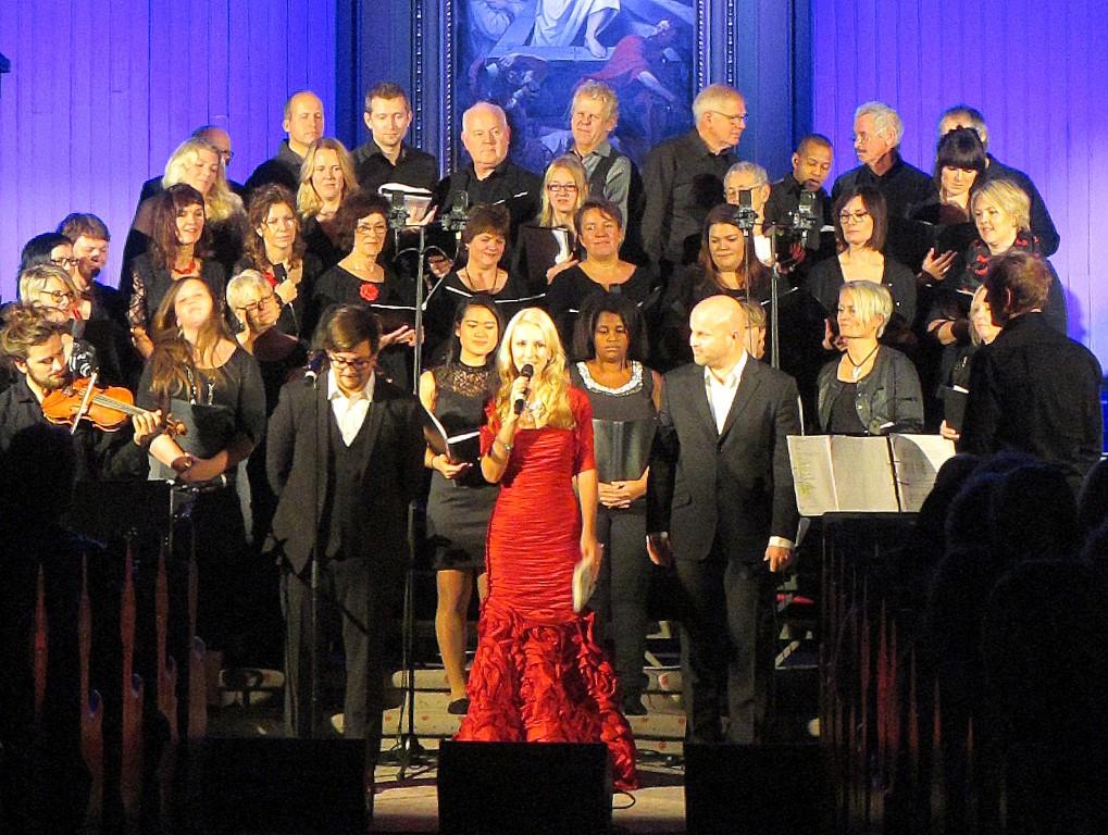 Julekonsert med Hanne Krogh 2014
